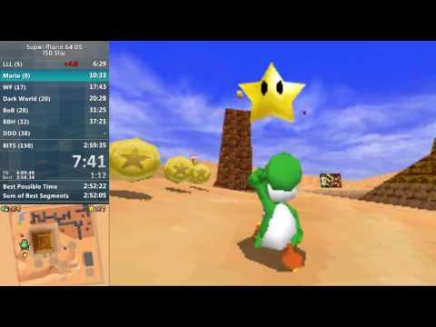 Super Mario 64 DS 150 Star (100%) in 2:59:03