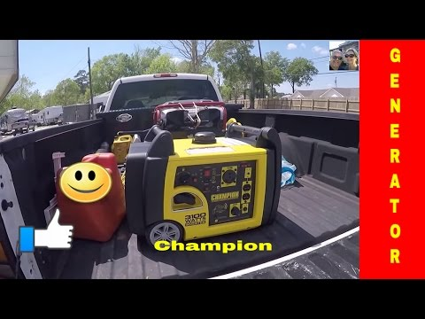Living Full Time In a RV S2 E26 Madi needs power Champion 75537i 3100 watts Review