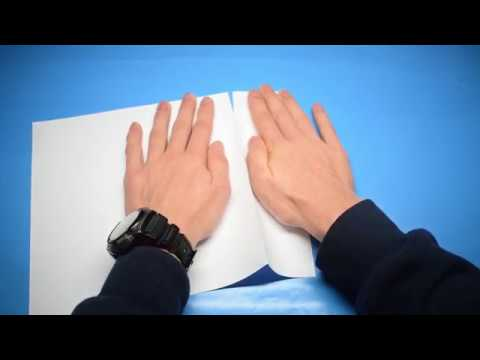 How To Accurately Cut Paper Without Scissors + How To Make a Perfect Square of Paper
