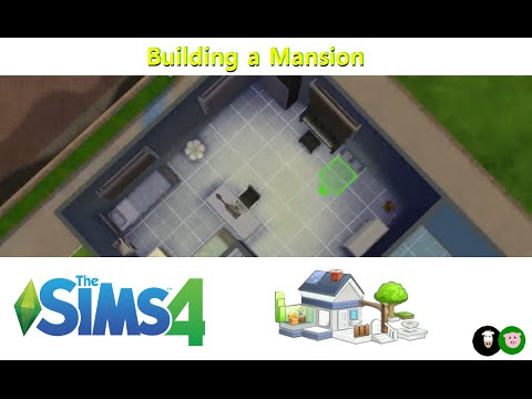 Sims 4 - Building a Mansion (part 8)