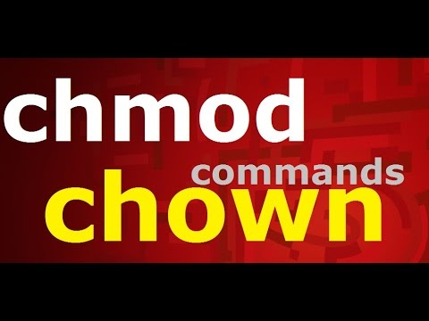chmod/chown commands in linux[part 2]