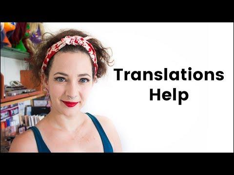 Translation Help