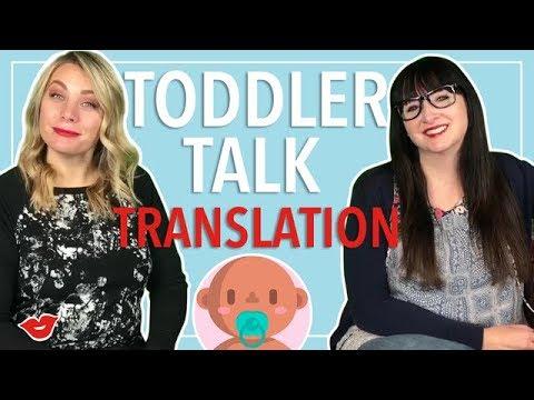 Toddler Talk Translation! | Alisha and Eden from Millennial Moms