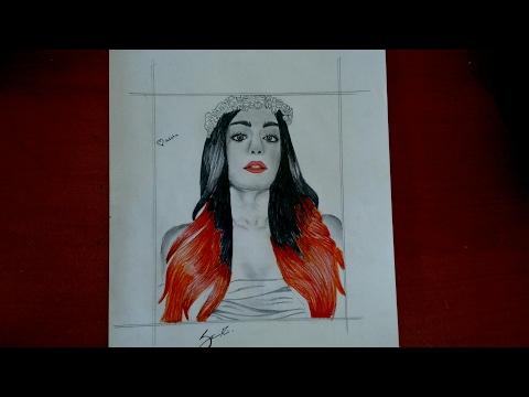 Adah Sharma speed sketch ❤ | commando 2 heroin