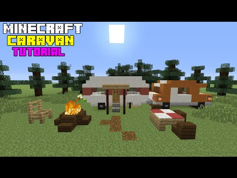 Minecraft Tutorial: How To Make A Caravan