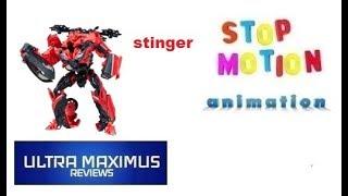 Stinger Stop Motion Animation