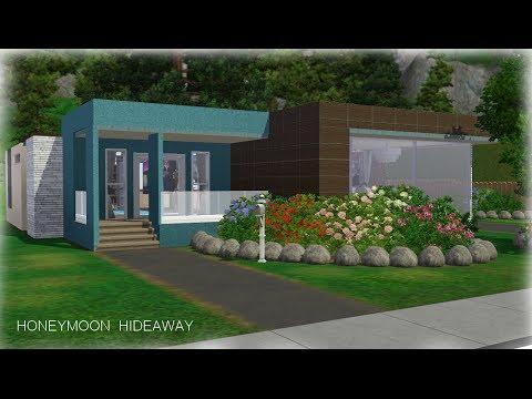 Sims 3 House Building - Honeymoon Hideaway