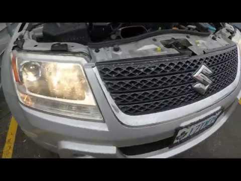 How to Replace Headlight Bulbs in Suzuki Grand Vitara