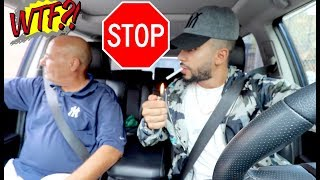 My First DRIVING LESSON with My Arab Dad!!!