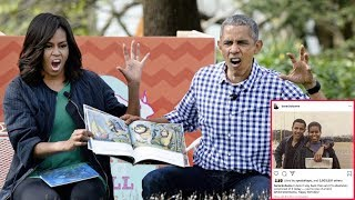 Download What message did Barack Obama send to his wife-Michelle Obama on her birthday? Video