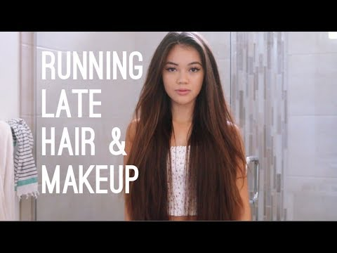 Running Late Hair & Makeup | viviannnv