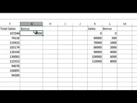 Excel 2013 Tutorial 10: Vlookup