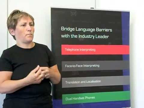 British Sign Language welcome to UCLH video