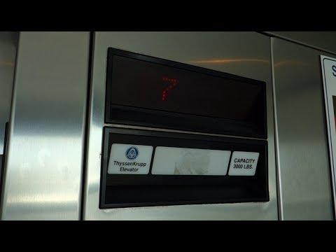 ThyssenKrupp Traction Elevators @  Sun Dail P-garage, St. Petersburg, FL, USA.