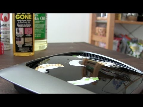 How to Clean Sticker Gunk with Household Items
