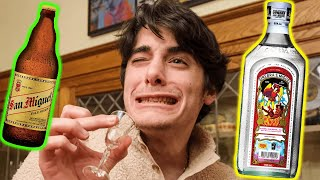 American Family Tries the STRONGEST Filipino Alcohols?! 😂