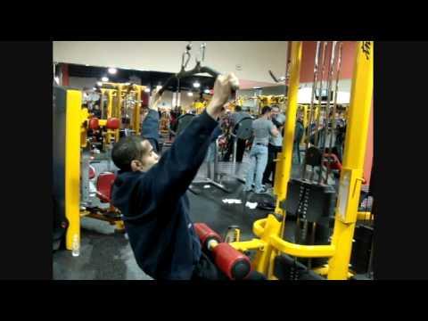Back workout for bigger wider lats v taper