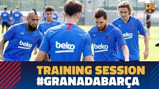 TRAINING SESSION   First workout to prepare the visit to Granada