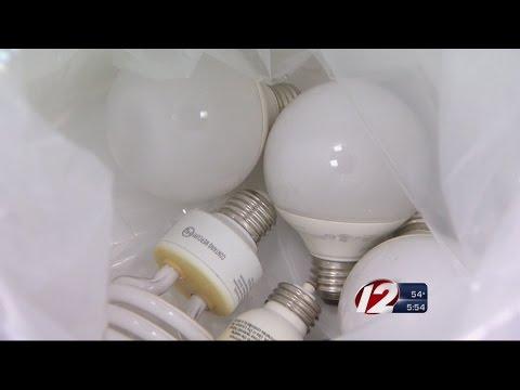 Program Allows RI Residents to Recycle Light Bulbs