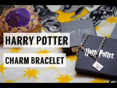Harry Potter Sterling Silver Charm Bracelet - TheCaratShop