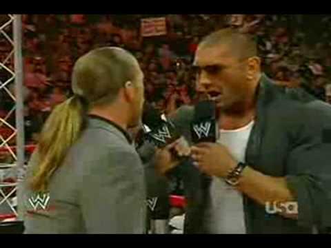 HBK and Batista Drunk Confrontation