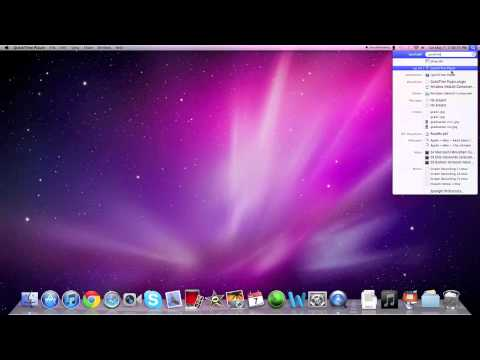 How to make Screen Recordings with Quicktime on Mac