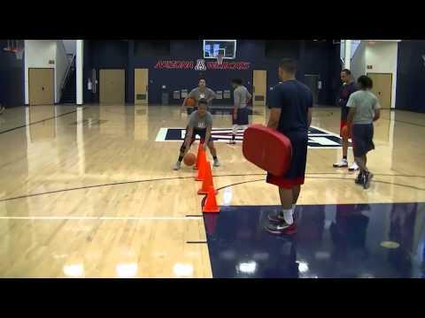 Guard/Post Ball Handling Workout -Arizona Women's Basketball