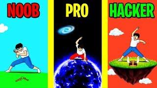 Download NOOB vs PRO vs HACKER in TAP TAP BREAKING! Video