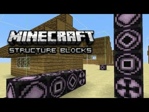 How To Get Structure Blocks - MCPE 1.2 BETA