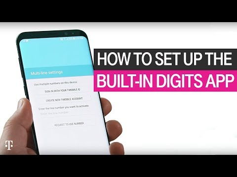 T-Mobile | Digits Training Video - Setting Up The Built In DIGITS App | How To's