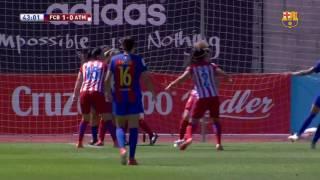 Barça Femenino vs Atlético Féminas [4-1][Copa de la Reina | Final][18/06/2017] Sonido Ambiente