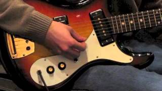 1970s Univox Hi Flier Phase 2 Electric Guitar