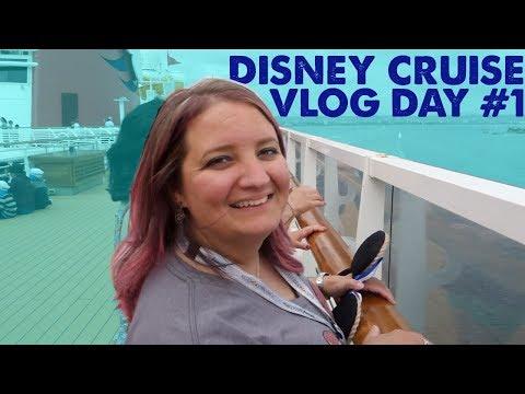 Disney Cruise to Mexico! Day #1 on the Disney Wonder!