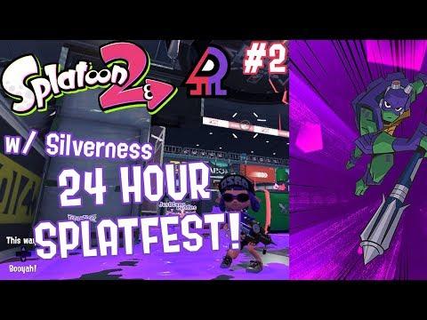 Splatoon 2 Splatfest #12 (Raph VS Donnie) Part 2 [CO-OP 24 HOUR SPLATFEST!!!]