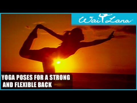 Yoga Poses for a Strong and Flexible Back: Wai Lana Yoga