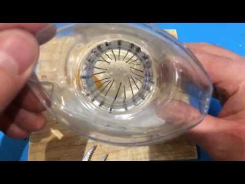 DIY How to make a mousetrap from a plastic bottle and paper clips