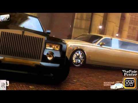 GTA 4 - Rolls - Royce Phantom 2003 Sedan vs. Rolls - Royce Phantom 2003 Strech Luxury Style