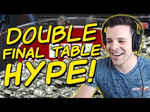 MULTIPLE FINAL TABLES! ($5000+ COMBINED FOR THE WIN!)