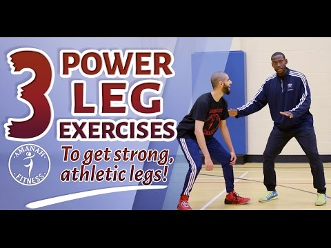 Train like an Athlete | Basketball Edition | Legs, Glutes, and Quads!