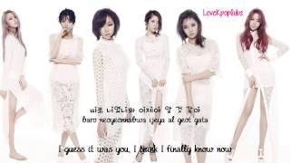 Dal Shabet   Guess It Was You 너였나봐 English subs + Romanization + Hangul HD