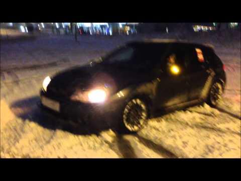 Subaru Impreza WRX STI GRB'08 Voronezh Snow Drift + Cruising