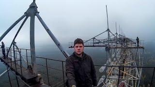 Wspinaczka na Oko Moskwy i trochę historii / radar Duga / Rosyjski Dzięcioł