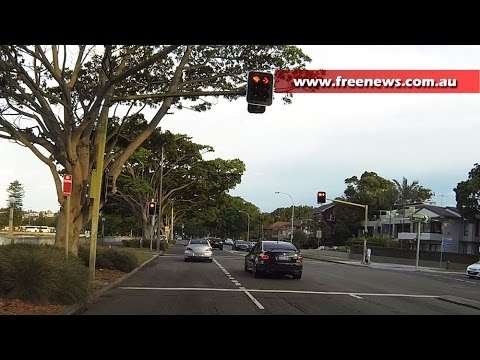 How to stop at a red light