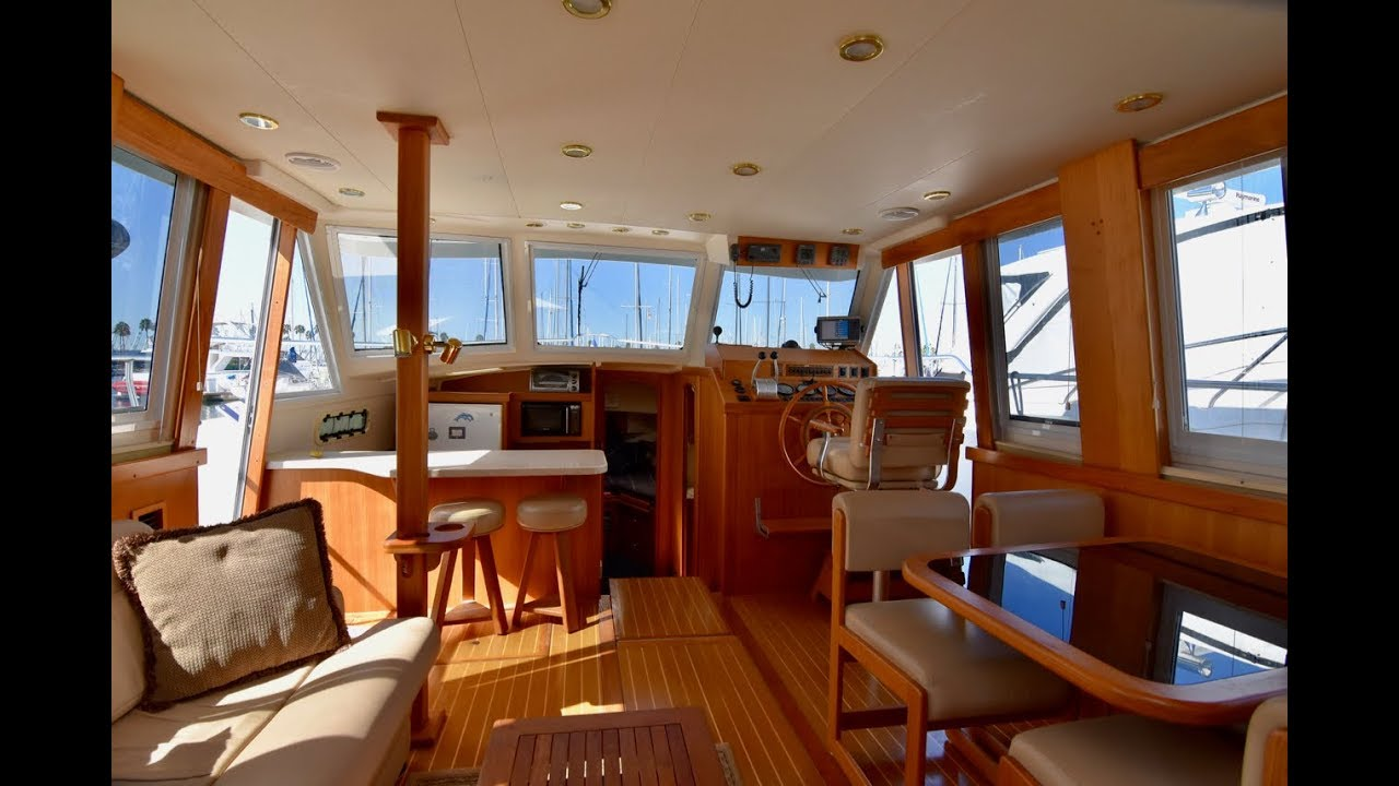 Mainship 430 Aft Cabin Trawler ⚓️ For Sale in Long Beach