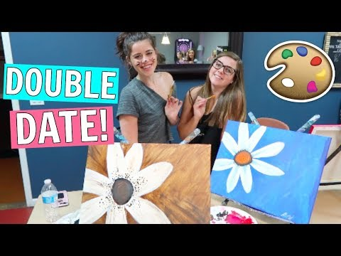 Wine and Paint Class Double Date!