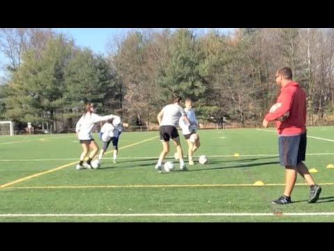 Fun Soccer Warmup | Technical Training with Kris Ward | YFutbol
