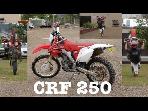 CRF 250 WHEELIES!