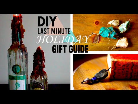 Last Minute DIY Holiday Gift Guide