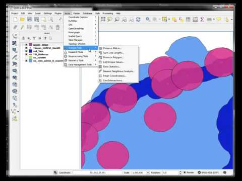 QGIS 2.10  -   Buffer, Difference, Clip