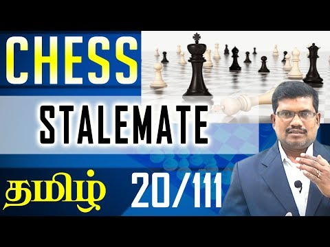 #20 Special Points - Stalemate in chess || Chess Game In Tamil